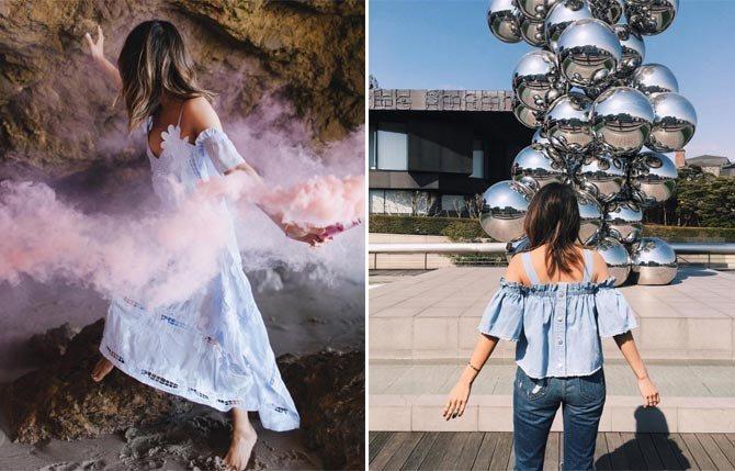 fashion blogger Aimee Song