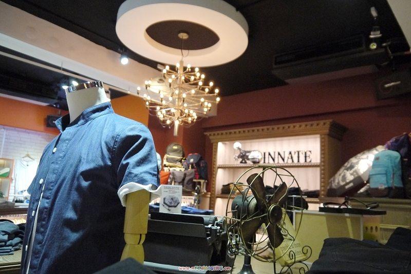 INNATE 用舒適的色系營造出一個玩樂時尚的空間。